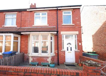 Thumbnail 3 bedroom end terrace house for sale in Harcourt Road, Blackpool