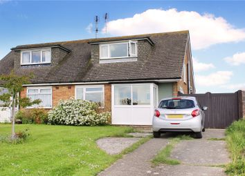 Thumbnail 2 bed semi-detached house for sale in Highdown Drive, Wick, Littlehampton