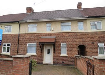 Thumbnail 2 bed terraced house to rent in Blackmore Street, Derby