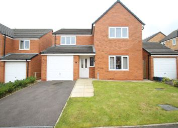 Thumbnail 4 bedroom detached house to rent in Barnacle Place, Newcastle-Under-Lyme