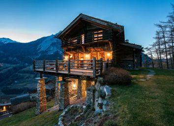 Thumbnail 7 bed detached house for sale in Charismatic Lodge, Orsières, Valais