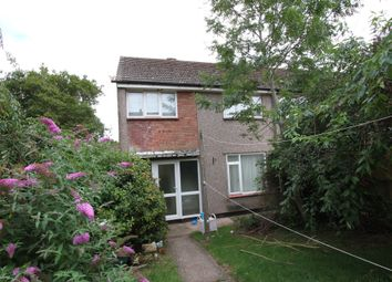 Thumbnail 3 bed end terrace house for sale in Monnow Walk, Bettws, Newport