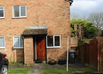 Thumbnail 1 bed terraced house to rent in Celandine Drive, Luton