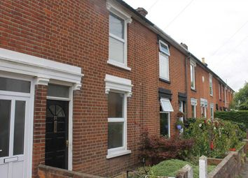 Thumbnail 2 bedroom terraced house to rent in North Hill Road, Ipswich