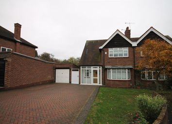 Thumbnail 3 bed semi-detached house to rent in Glen Crescent, Woodford Green