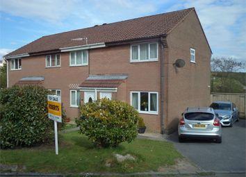 Thumbnail 2 bed end terrace house for sale in Honeysuckle Close, Rassau, Ebbw Vale, Blaenau Gwent