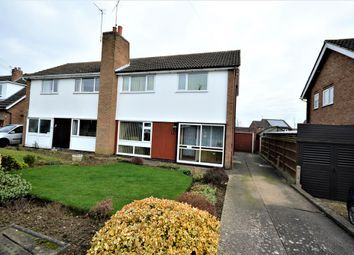 Thumbnail 3 bed semi-detached house for sale in Stanhope Road, Wigston