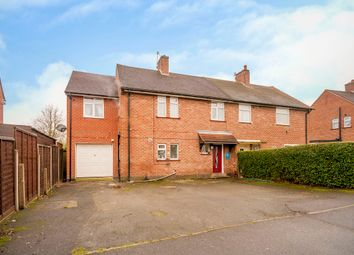 Thumbnail 5 bed semi-detached house for sale in Craddock Avenue, Spondon, Derby
