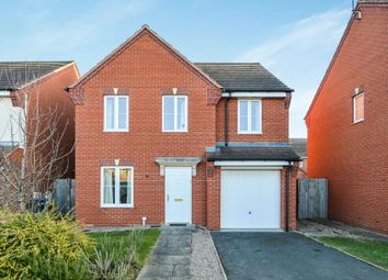 Thumbnail 4 bed detached house for sale in Projects Drive, Caldecott Manor, Rugby