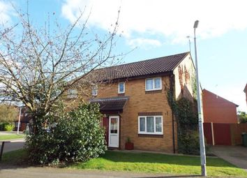 Thumbnail 3 bed semi-detached house for sale in Woodfield Gate, Dunstable, Bedfordshire, England