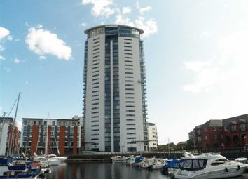 Thumbnail 1 bed flat for sale in Meridian Tower, Trawler Road, Maritime Quarter