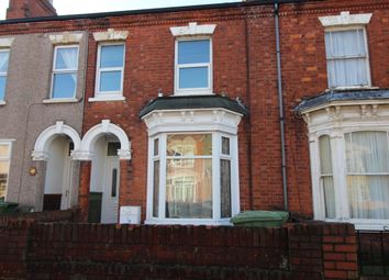 Thumbnail 3 bed terraced house to rent in Cromwell Road, Grimsby