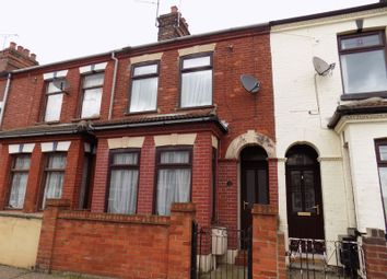 Thumbnail 3 bedroom terraced house to rent in Palmer Road, Gorleston, Great Yarmouth