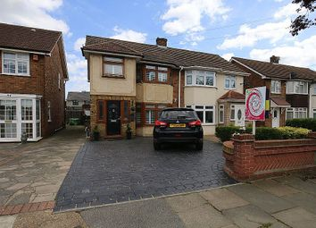 Thumbnail 3 bed semi-detached house for sale in Lovell Walk, Rainham, Essex