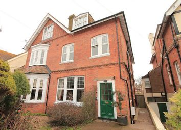 Thumbnail 3 bedroom flat for sale in Cantelupe Road, Bexhill On Sea, East Sussex