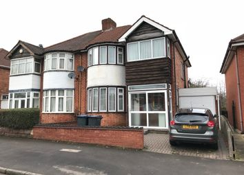 Thumbnail 3 bed semi-detached house to rent in Bordesley Green East, Stechford, Birmingham