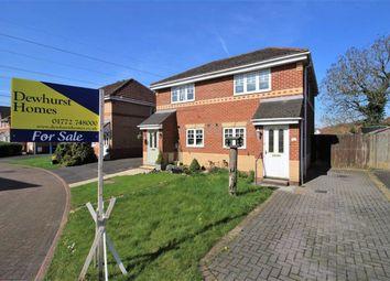 Thumbnail 2 bed semi-detached house for sale in Woodburn Grove, Penwortham, Preston