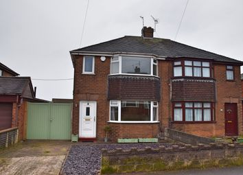 Thumbnail 2 bed semi-detached house for sale in Riceyman Road, Bradwell, Newcastle-Under-Lyme
