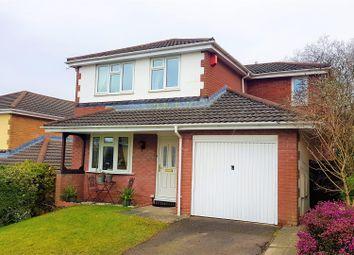 Thumbnail 4 bedroom detached house for sale in Parc Bryn Derwen, Llanharan, Pontyclun
