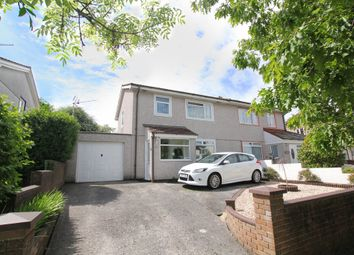 Thumbnail 3 bed semi-detached house for sale in Ringmore Way, Plymouth