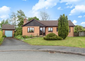 Thumbnail 3 bed detached bungalow for sale in Brynteg, Llandrindod Wells