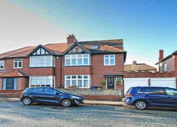 Thumbnail 4 bed semi-detached house for sale in Kenton Road, Gosforth, Newcastle Upon Tyne