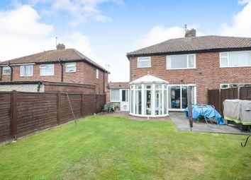 Thumbnail 4 bed semi-detached house for sale in Brooklands, York
