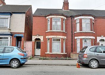 Thumbnail 3 bedroom end terrace house for sale in Portobello Street, Hull
