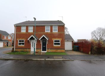 Thumbnail 3 bed semi-detached house for sale in Kestrel Court, Newton Aycliffe, Durham