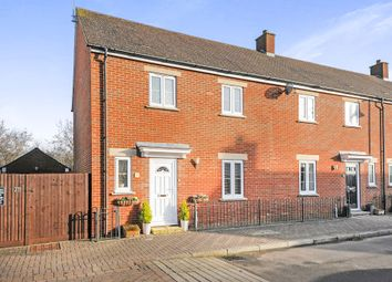 Thumbnail 3 bedroom end terrace house for sale in Dunvant Road, Swindon