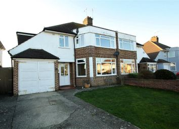 Thumbnail 4 bed semi-detached house for sale in Rosebery Avenue, Goring By Sea, Worthing