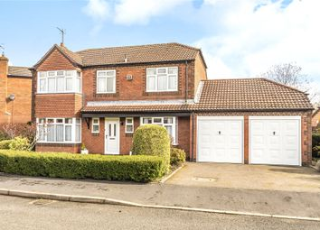 Thumbnail 4 bed detached house for sale in Evertons Close, Droitwich, Worcestershire