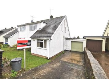 Thumbnail 2 bed semi-detached house for sale in Orchard Close, Gilwern, Abergavenny, Monmouthshire