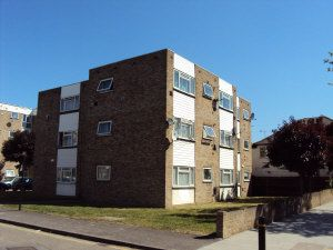 Thumbnail 2 bed flat for sale in Wivenhoe Court, Hounslow
