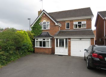 Thumbnail 4 bed detached house for sale in St. Catharines Close, Walsall