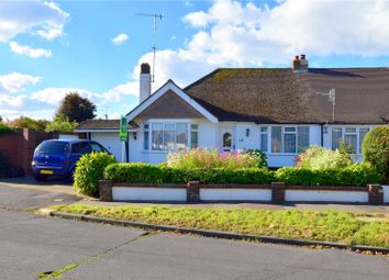 Thumbnail 2 bed bungalow for sale in Monks Avenue, Lancing, West Sussex