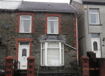 Thumbnail 4 bed terraced house for sale in Brithweunydd Road, Trealaw, Rhondda Cynon Taff.