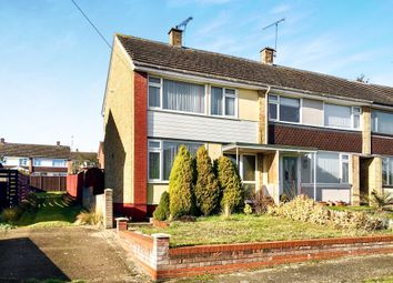 Thumbnail 3 bedroom end terrace house for sale in Holcombe Crescent, Ipswich