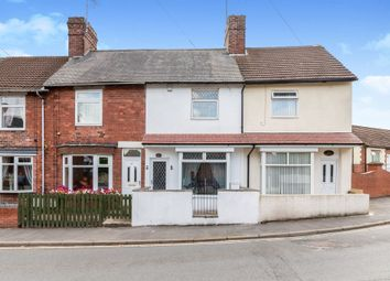 Thumbnail 2 bed terraced house for sale in Skinner Street, Creswell, Worksop
