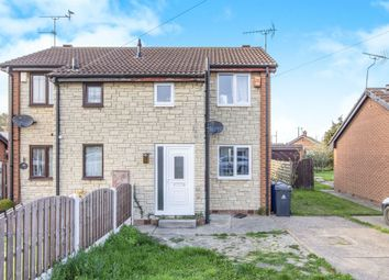 Thumbnail 2 bed semi-detached house for sale in Coniston Road, Askern, Doncaster