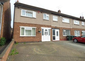 Thumbnail 3 bedroom end terrace house for sale in Tallants Road, Coventry, West Midlands