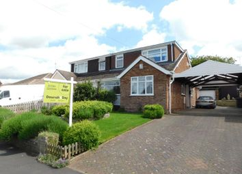 Thumbnail 4 bed semi-detached bungalow for sale in Rockhouse Drive, Great Haywood, Stafford