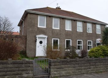 Thumbnail 3 bed semi-detached house for sale in Heol-Y-Goedwig, Porthcawl