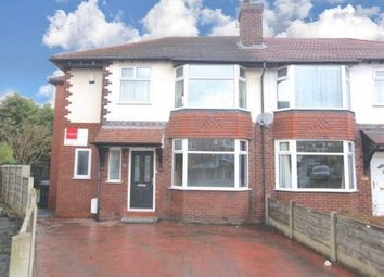 Thumbnail 4 bed semi-detached house to rent in Hollins Green Road, Stockport