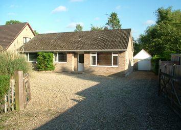 Thumbnail Detached bungalow for sale in Flordon Road, Newton Flotman, Norwich
