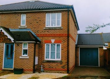 Thumbnail 3 bed semi-detached house to rent in Petronius Way, Highwoods, Colchester