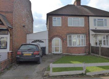 Thumbnail 3 bed semi-detached house for sale in Grove Road, Kings Heath, Birmingham