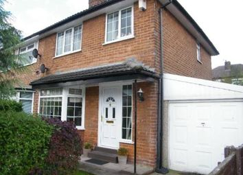Thumbnail 3 bed semi-detached house for sale in Palmerston Road, Dane Bank, Greater Manchester