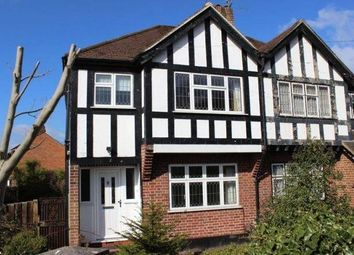 Thumbnail 4 bed semi-detached house to rent in Harvest Road, Englefield Green, Egham, Surrey