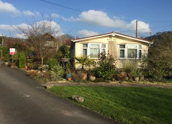 Thumbnail 2 bed mobile/park home for sale in Homestead Park, Wookey Hole, Wells